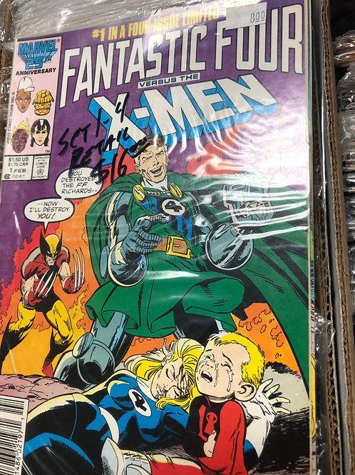 Fantastic Four Vs X-Men 1-4