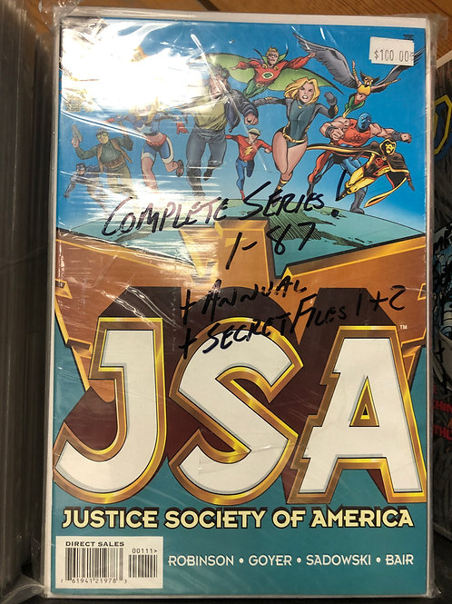 JSA Complete Series 1-87 Plus Annual and 2 Secret Files