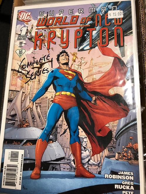 Superman World of New Krypton 1-12