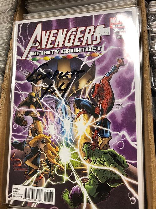 Avengers Infinity Gauntlet 1-4