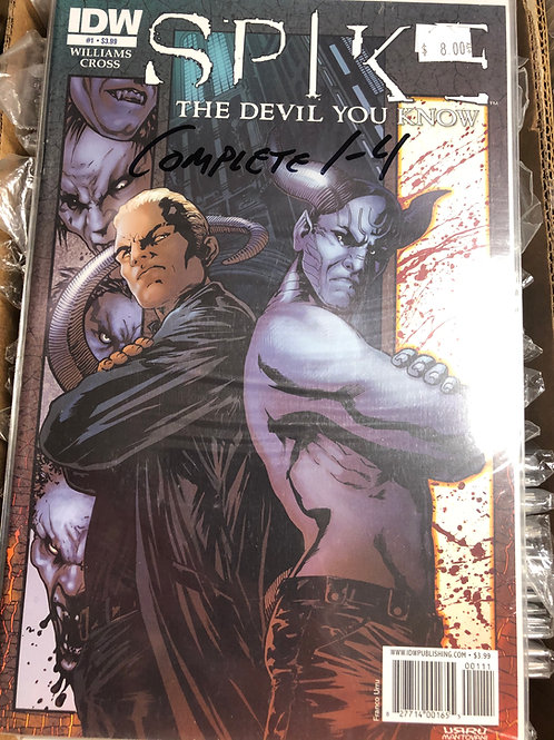 Spike the Devil You Know 1-4