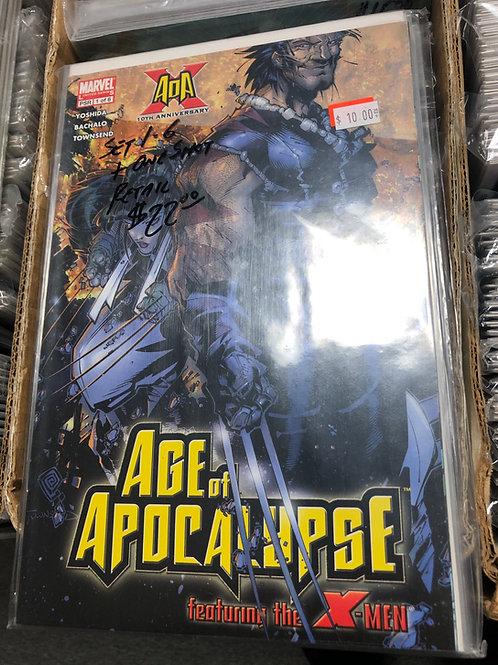 Age of Apocalypse Mini 1-6 Plus One Shot