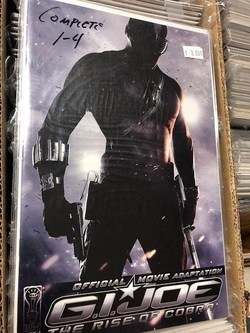 G.I. Joe Rise of Cobra Adaptation 1-4