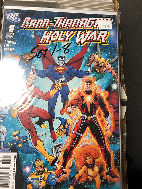 Rann-Thanagar Holy War 1-8
