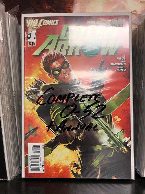 Green Arrow New 52 0-52 Plus Annual