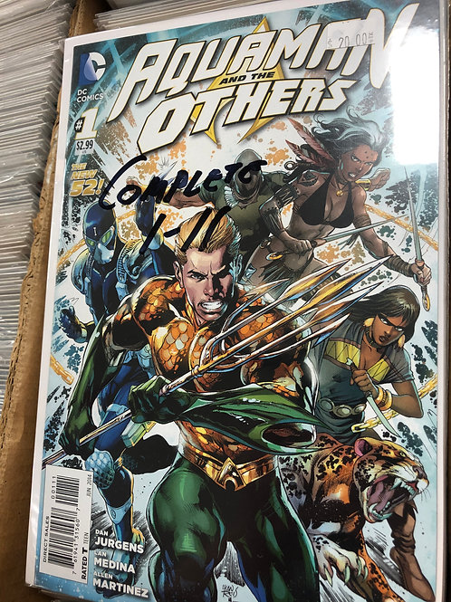 Aquaman & The Others Complete Series 1-11