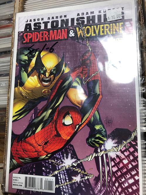 Astonishing Spider-man & Wolverine 1-6