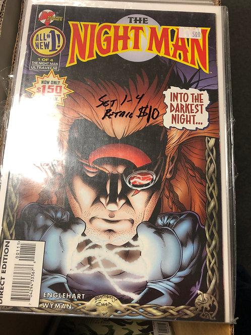 Night Man 1-4