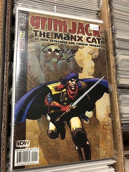 Grimjack The Manx Cat 1-6