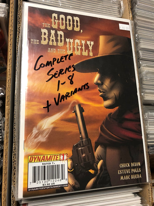 The Good, The Bad and The Ugly 1-8 plus variants