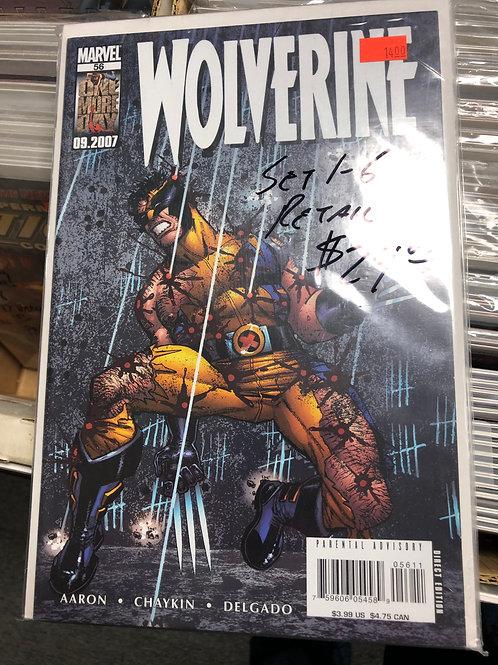 Wolverine Howard Chaykin Story 1-6