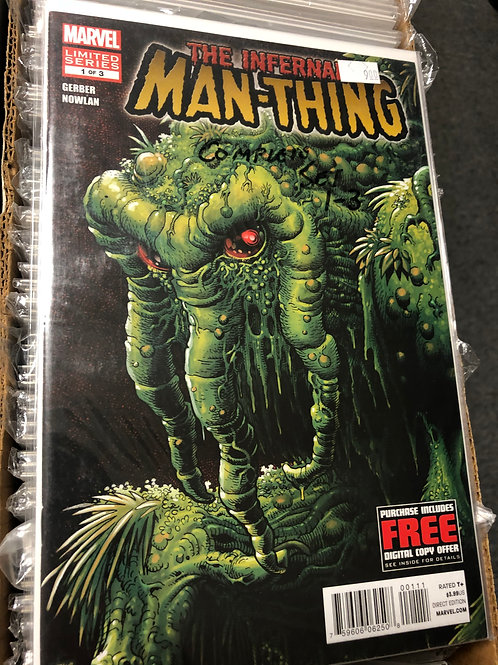 Infernal Man-Thing 1-3