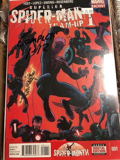 Superior Spider-man Team Up 1-12
