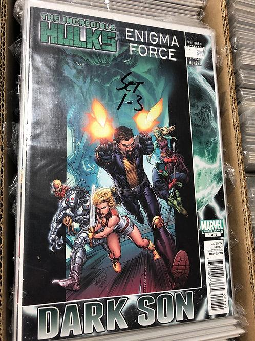 Incredible Hulks Enigma Force Dark Son 1-3