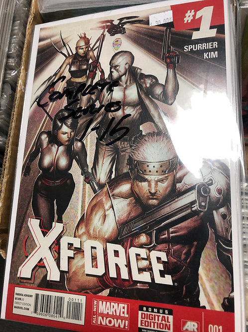 X-Force Complete Series 1-15