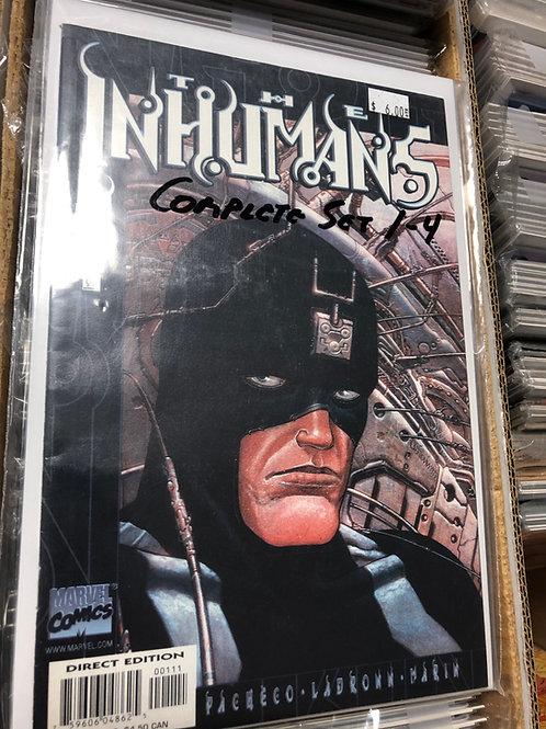 Inhumans 1-4