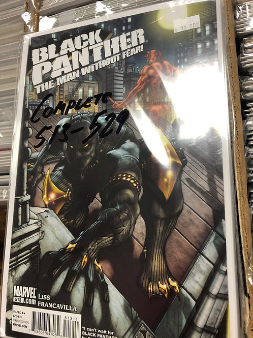 Black Panther Man Without Fear 513-529