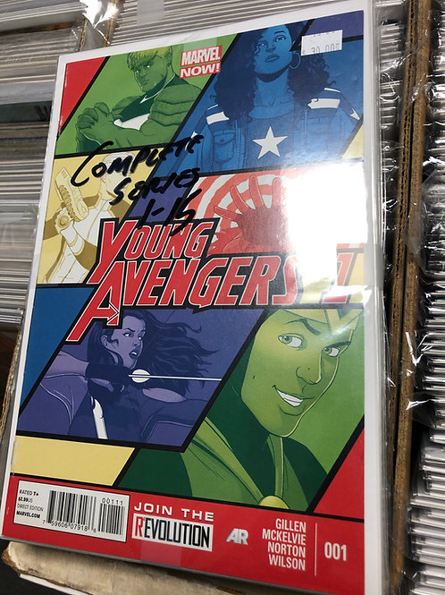 Young Avengers 1-15