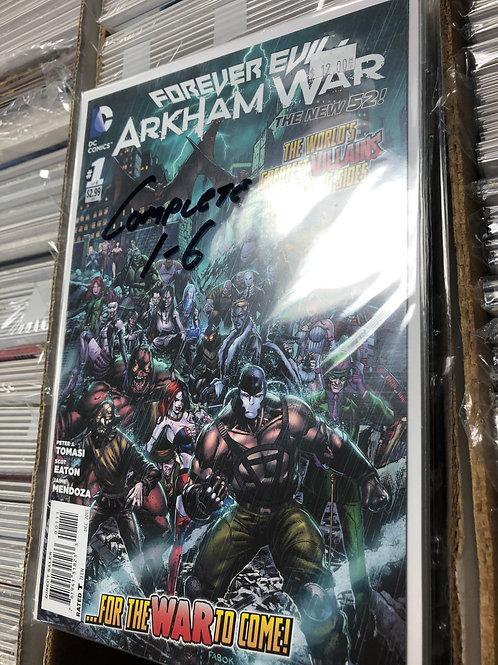 Forever Evil Arkham War 1-6