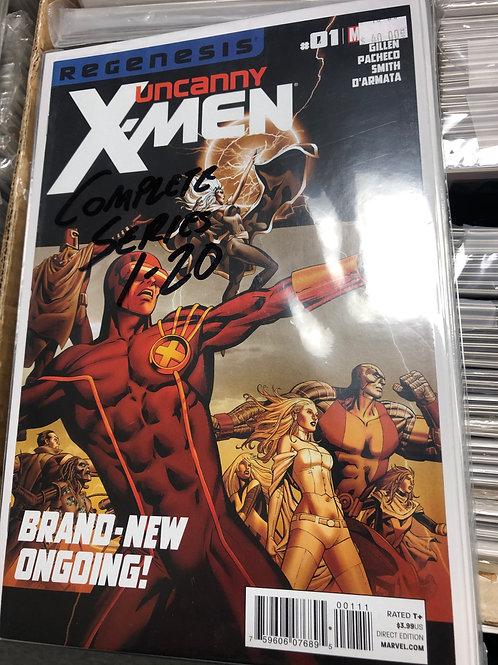 Uncanny X-Men Complete Series 1-20