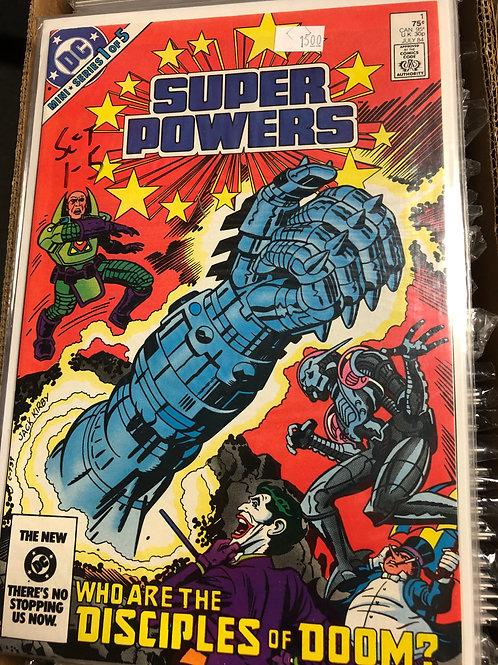 Super Powers 1-5