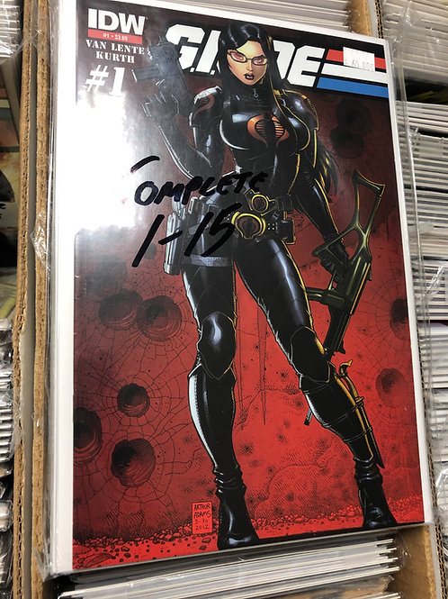 G.I. Joe Complete Series 1-15 Art Adams