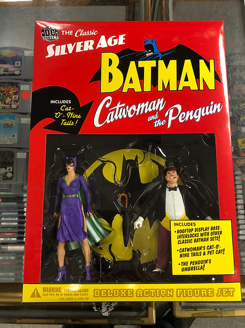 DC Direct Silver Age Catwoman & Penguin