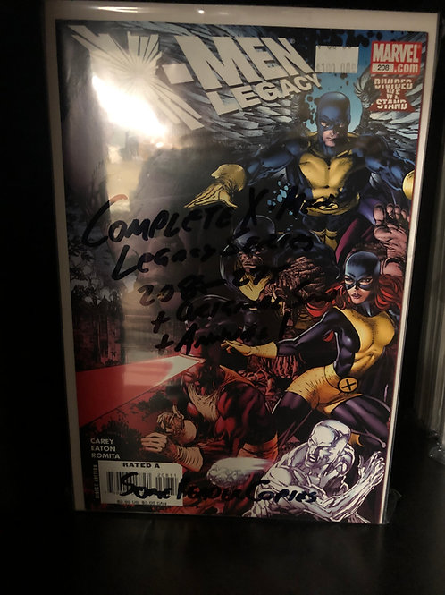 X-Men Legacy 208-275, Plus Original Sin, Plus Annual 1 some reader copies