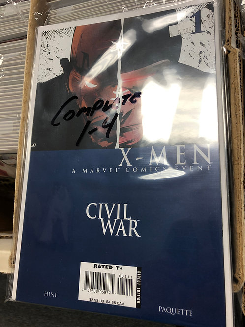 Civil War X-Men 1-4