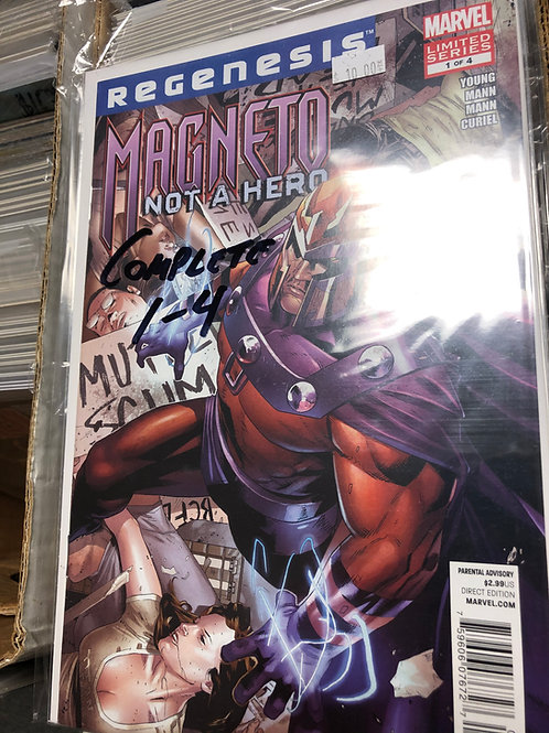 Magneto Not A Hero 1-4