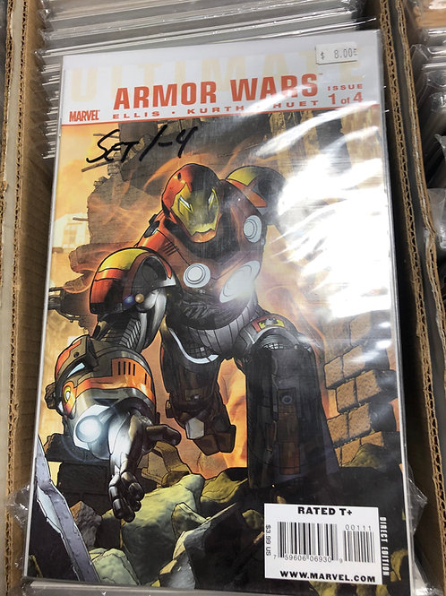 Ultimate Armor Wars 1-4