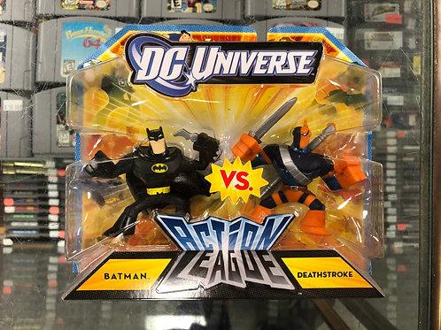 DC Universe Action League Batman Vs Deathstroke