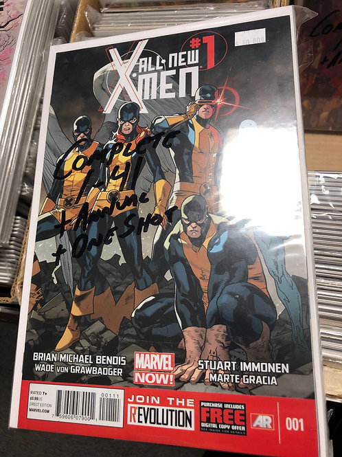All New X-Men Complete Series 1-41 Plus Annual & One Shot