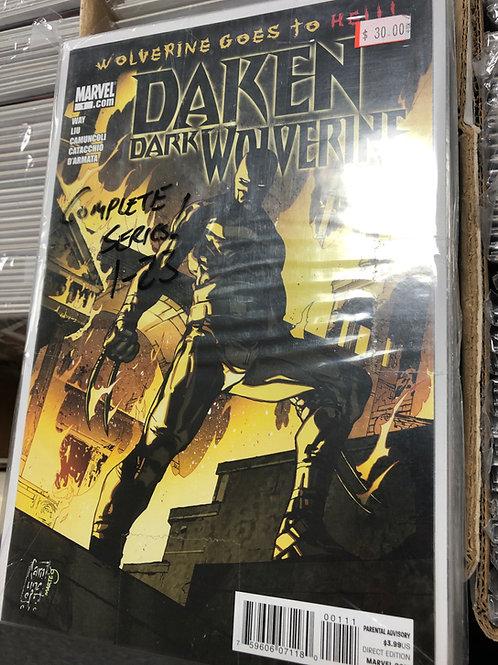 Daken Dark Wolverine 1-23