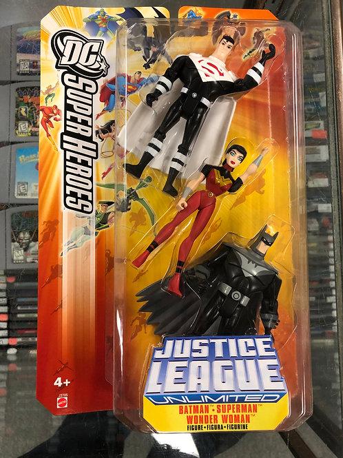 Justice League Unlimited Justice Lords Batman Superman Wonder Woman