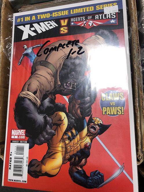 X-Men Vs Agents of Atlas 1-2