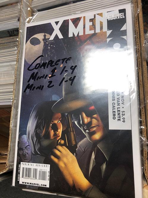 X-Men Noir Mini 1 & 2 Complete