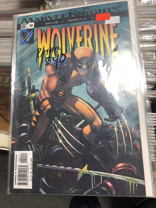 Wolverine Enemy of the State 1-12