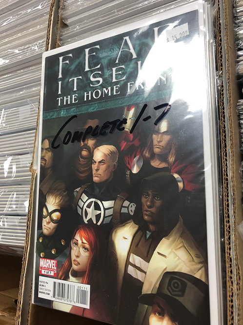 Fear Itself Home Front 1-7
