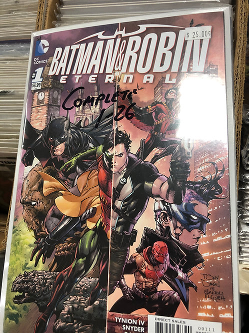 Batman & Robin Eternal Complete Series 1-26