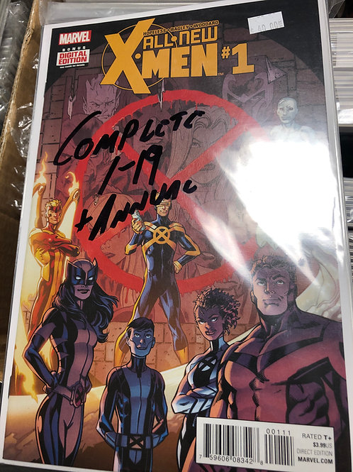 All New X-Men 1-19 Plus Annual Complete Series