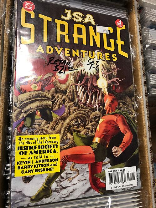 JSA Strange Adventures 1-6