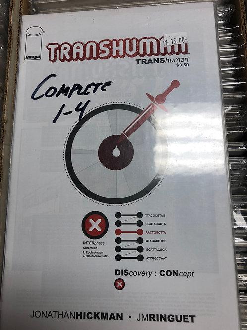 Transhuman 1-4