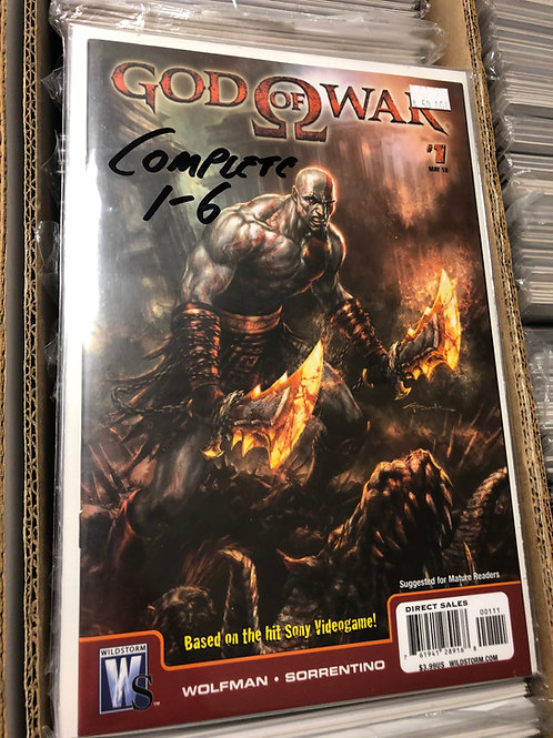 God of War 1-6 Very Hard To Find