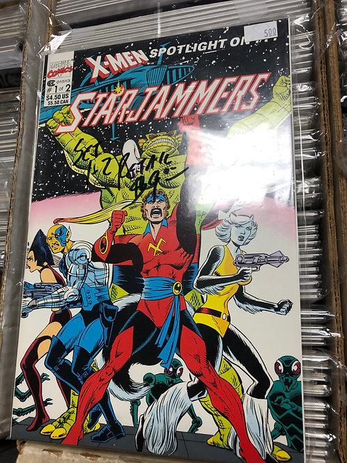 X-Men Starjammers 1-2