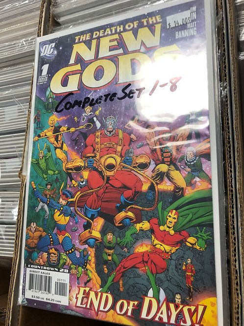 Death of the New Gods 1-8