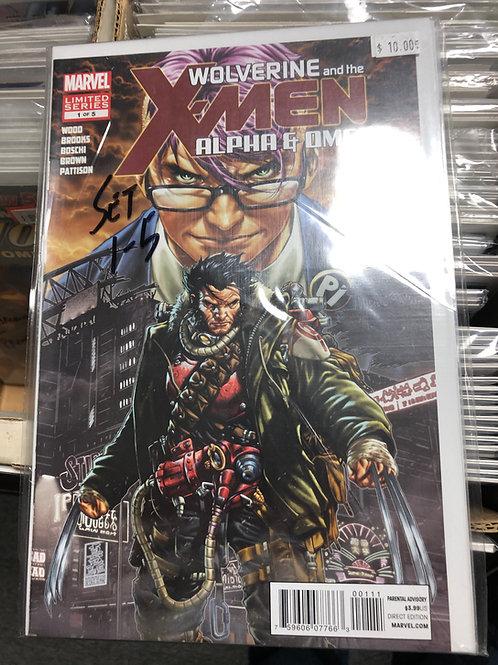 Wolverine & The X-Men Alpha & Omega 1-5
