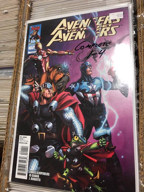 Avengers Vs Pet Avengers 1-4