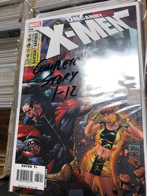 Uncanny X-Men Rise & Fall of the Shi'Ar Empire 1-12
