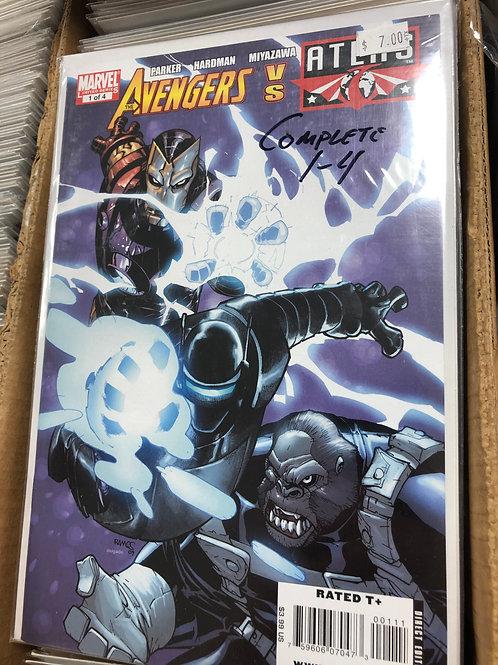Avengers Vs Atlas 1-4